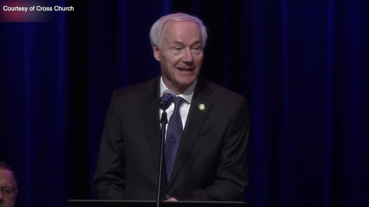 Governor Hutchinson remarks at the memorial for Pea Ridge Officer Kevin Apple