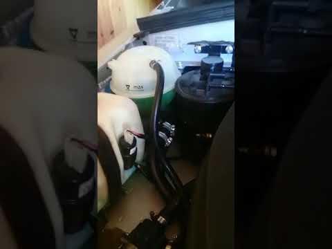 Установка рашерительного бочка vw Golf на шевроле ниву