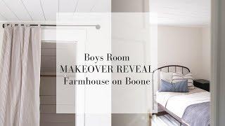 Farmhouse Boys Room Makeover REVEAL   SIMPLE FARMHOUSE STYLE DECOR