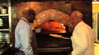 Wolfgang Puck Shows How To Cook A Spago Pizza