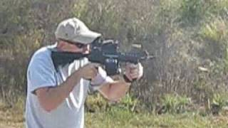 CMMG 7 M16 Piston Machine Gun Beta Mag Test Video