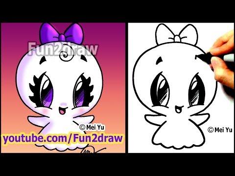 Fun2draw ghost 3 fun2draw stars by the funny drawers for Fun to draw people