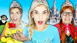 24 Hours As a Disney Princess Challenge to Find Rebecca's Missing Memory!