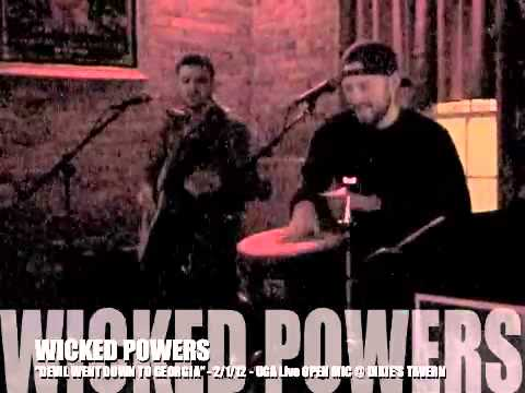 "Wicked Powers ""Devil Went Down to Georgia"" (live 2.1.12 @ Dixie's Tavern)"