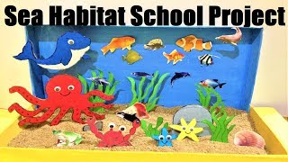 Sea life art projects for toddlers
