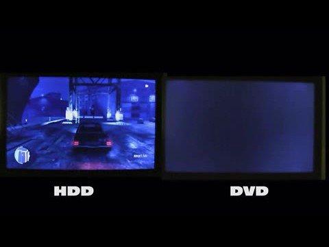 Xbox Experience HDD vs. DVD Comparison Video