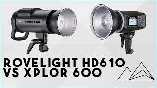 Flash Photography - Orlit Rovelight RT610 (Jinbei HD610) Vs. Xplor 600 (Godox AD600)