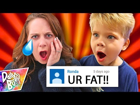 READING MEAN COMMENTS FROM HATERS!