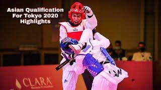 Highlights||Asian Taekwondo Qualification for Tokyo 2020 || Amman Jordan!