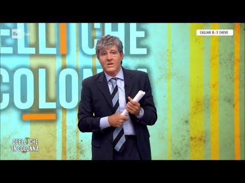Ubaldo Pantani imita Paolo del Debbio in &quotQuelli che in colonna&quot - Quelli che il calcio 24/09/2017