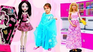 Барби и Монстер Хай Все серии. Видео для девочек