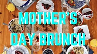 Mothers Day Brunch / Gluten-Free + Vegan Options // Easy And Healthy!