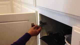 Taylor Cabinet Door Co. Hanging New Cabinet Doors with euro hidden hinges 1-800-852-7087