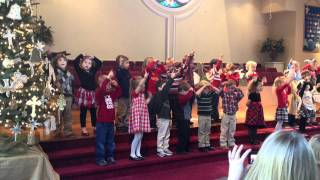 Adam's Christmas Performance - We Are the Shepherds
