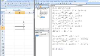 Excel vba topic 22 creating your first vba macro most popular excel vba topic 23 variables fandeluxe Choice Image