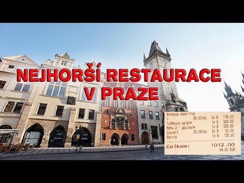 JdemeReagovat - NEJHORŠÍ RESTAURACE V PRAZE!