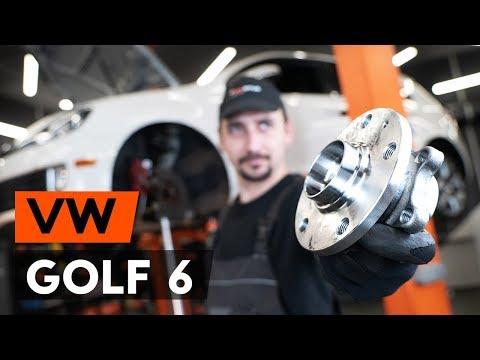 Wie VW GOLF 6 (5K1) Radlager vorne wechseln [TUTORIAL AUTODOC]