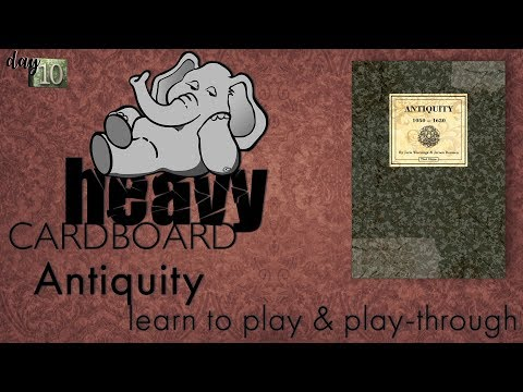 Antiquity 2p Play-through, Teaching, & Roundtable discussion by Heavy Cardboard