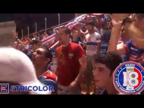 """""""Movimento Bravo 18 - Paixão que vem de dentro."""" Barra: Bravo 18 • Club: Fortaleza"""