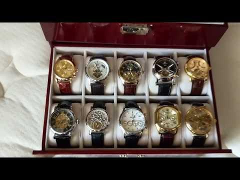 Omega, Audemars Freres, Invicta, Festina, Pavel Bure, Xoskeleton, Langengrad, and other watches