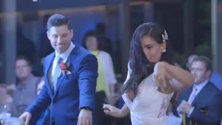 Wedding Dance And Flash Mob - Janette And Paul (Elvis and Michael Jackson)