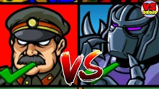 Age Of War 2    Voltornator Vs Stalislov The Supreme | Gameplay Walkthrough (AndroidiOS)
