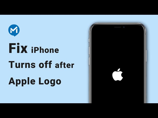 Fix iPhone Keeps Showing Apple Logo and then Turning off (iOS 14 and iPhone 12  Supported)