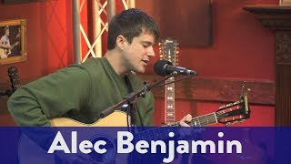 "Alec Benjamin- ""Death of a Hero"" (Live)"
