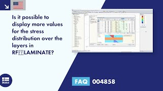 FAQ 004858 | Is it possible to display more values for the stress distribution over the layers in RF‑LAMINATE?