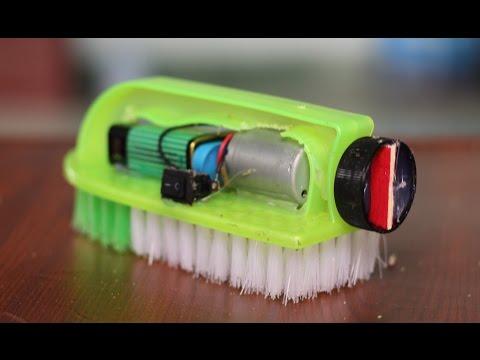 Come fare un robot spazzola di lavaggio