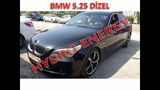 BMW 5.25 dizel hidrojen yakıt tasarruf sistem montajı