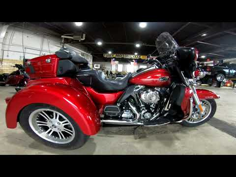 2013 Harley-Davidson FLHTCUTG TRI GLIDE in South Saint Paul, Minnesota - Video 1