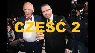 Korwin-Mikke: Ktoś żąda od Polski 20 miliardów? – Grzegorz Braun prowadzi obrady zespołu 2/2