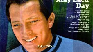 """Andy Williams original album collection """"and roses and roses""""/そしてバラが"""