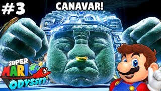 Piramit Canavarı Geldi!! - Panda ile Super Mario Odyssey Üçüncü Bölüm