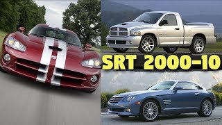 Top 9 Most Powerful SRT Models of the Decade - 2000-2010