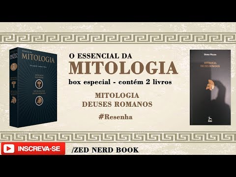 Essencial da Mitologia- Mitologia Deuses Romanos (Box de Livros) #014