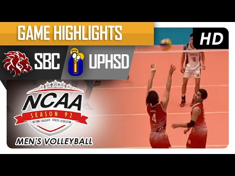 UPHSD vs SBC | Final Four Game Highlights | NCAA 92 Men's Volleyball