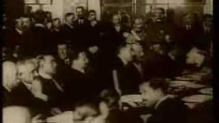Dmowski i Paderewski na Konferencji w Wersalu