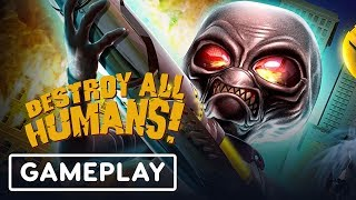 10 Minutes of Destroy All Humans! Remake Gameplay (Off-Screen) - E3 2019