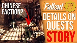 Fallout 76 Details - All the Quest and Story Details [so far]