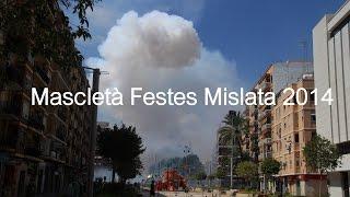 preview picture of video 'Mascletà Festes Mislata 2014'