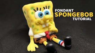 Fondant SPONGEBOB | Cake Topper