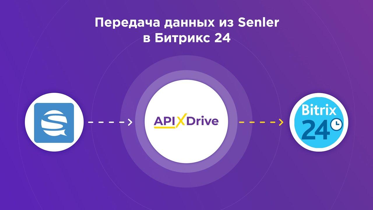 Как настроить выгрузку данных из Senler в виде сделок в Bitrix24?