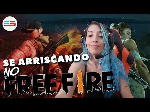 SE ARRISCANDO NO FREE FIRE