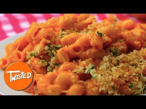 Double Pepperoni Pizza Mac And Cheese Recipe | Twisted