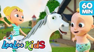 She`ll Be Coming   The BEST SONGS For Kids | LooLoo Kids