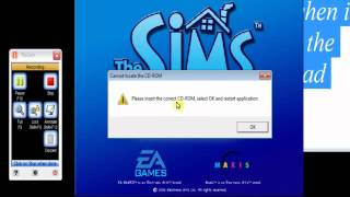 preview picture of video 'i just finish download the sims creator and i had this problem pleas insert the correct cd-rom'