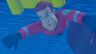 Fireman Sam US New Episodes | Ocean of Fear - Water Rescues Season 7 🚒  | Cartoons for Children