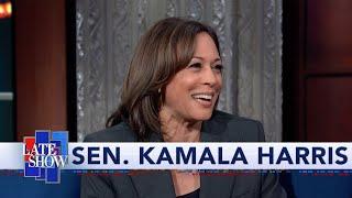"Sen. Kamala Harris: Lindsey Graham's Biden Probe Is ""A Bunch Of B.S."""